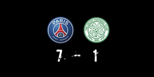 PSG (7-1) Celtic