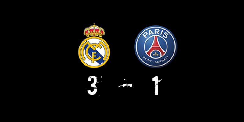 R. Madrid (3-1) PSG