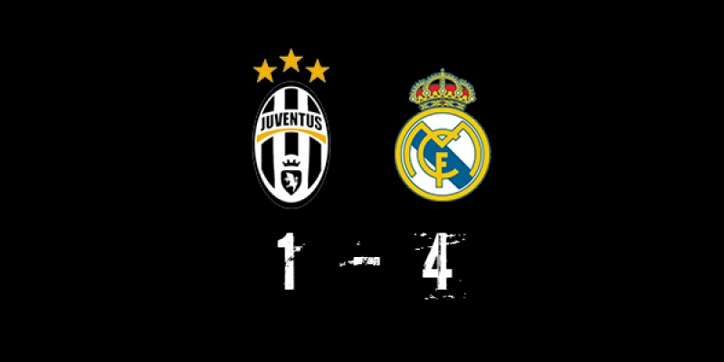 Juventus (1-4) Real Madrid