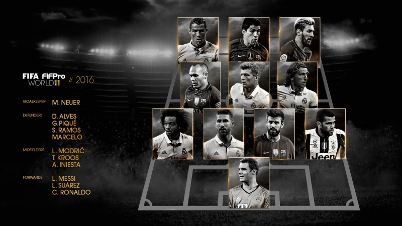 Fifa FIFPro World XI 2016