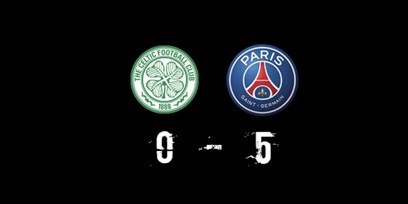 Celtic (0-5) PSG